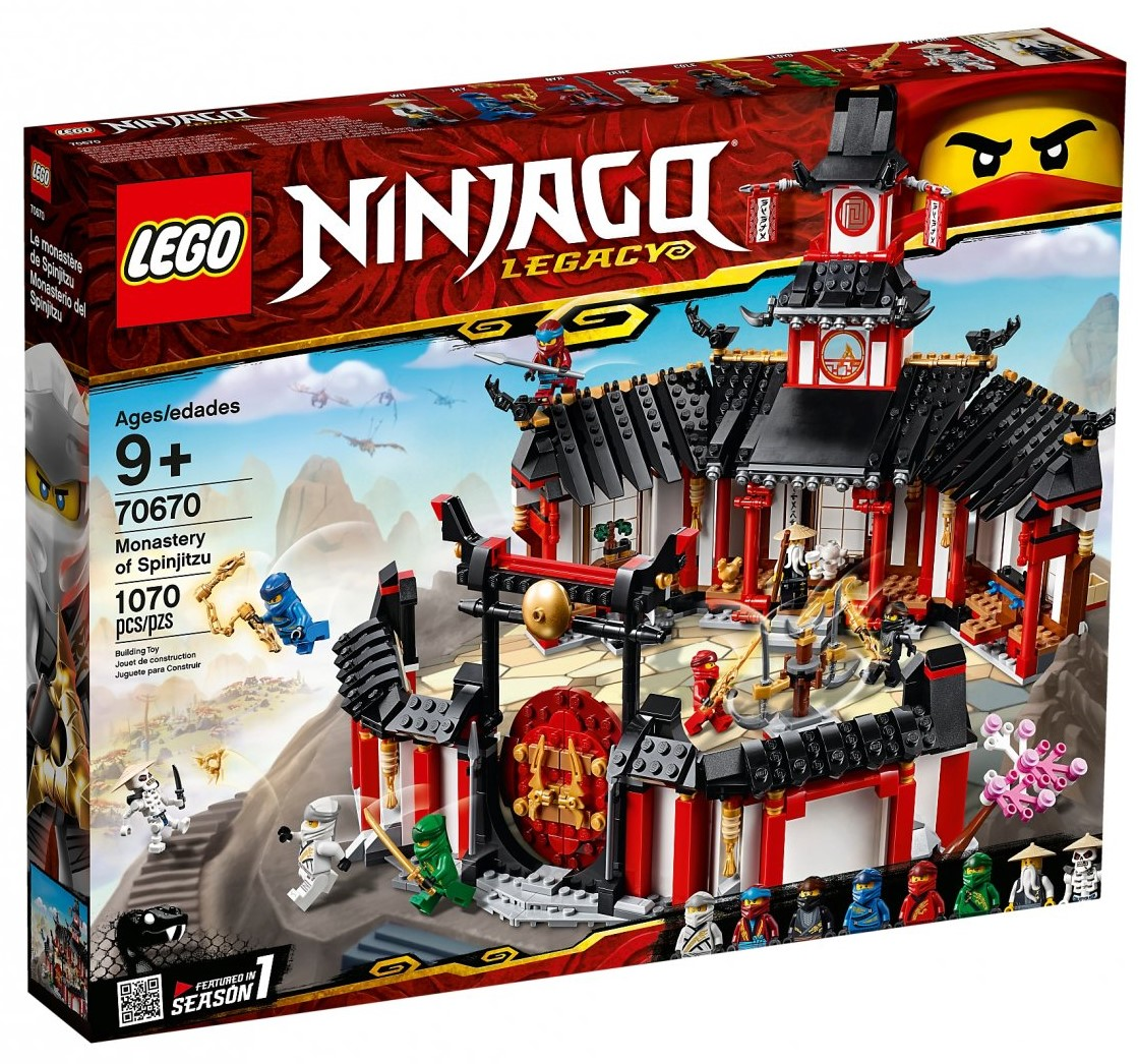 NINJAGO 70670 Monastery of Spinjitzu