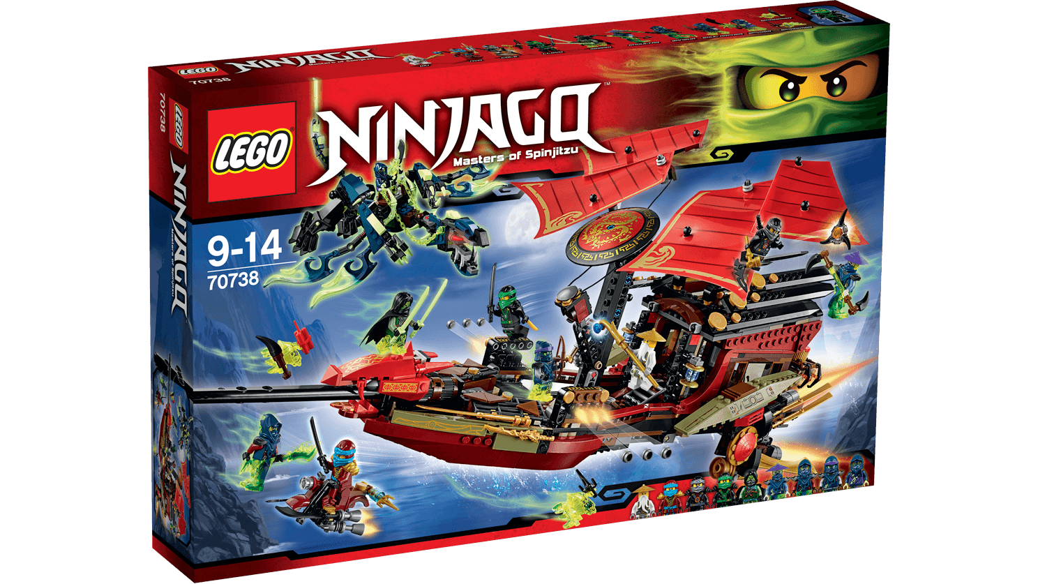 LEGO NINJAGO 70738 Final Flight of Destinys Bounty