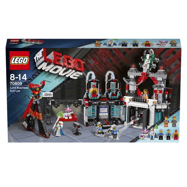 The LEGO Movie 70809 Lord Business Evil Lair