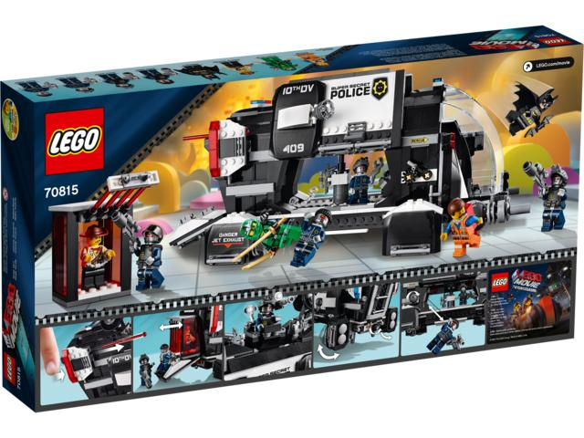 The LEGO Movie 70815 Super Secret Police Dropship
