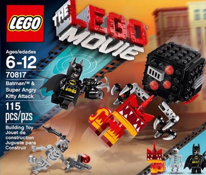 The LEGO Movie 70817 Batman and Super Angry Kitty Attack