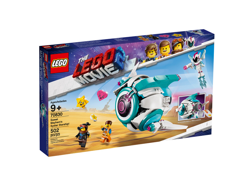 LEGO® Movie 2 70830 Sweet Mayhems Systar Starship