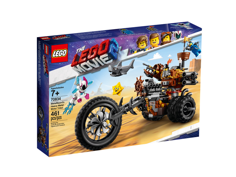 LEGO® Movie 2 70834 MetalBeards Heavy Metal Motor Trike