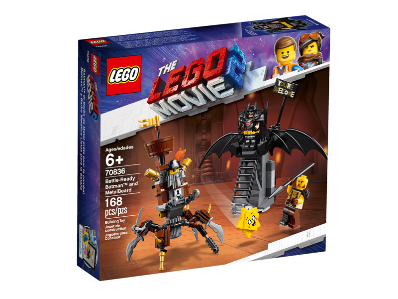 LEGO® Movie 2 70836 Battle Ready Batman and MetalBeard