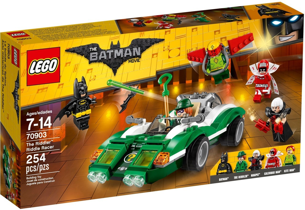 The Riddler Riddle Racer 70903