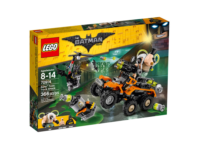 LEGO 70914 Batman Movie Bane Toxic Truck Attack