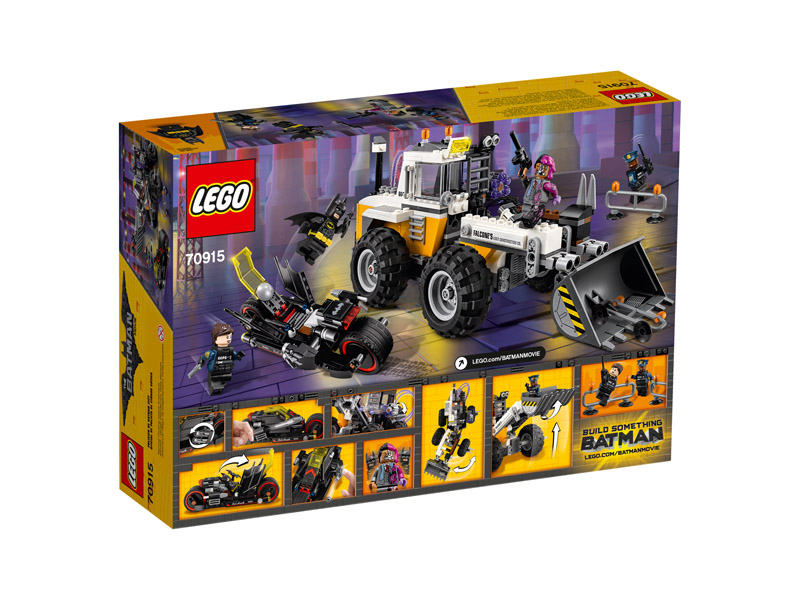 LEGO 70915 Batman Movie Two Face Double Demolition - Click Image to Close