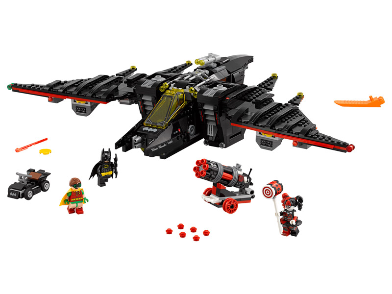 LEGO 70916 Batman Movie The Batwing Dent