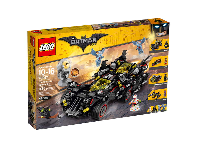 LEGO 70917 Batman Movie The Ultimate Batmobile Dent
