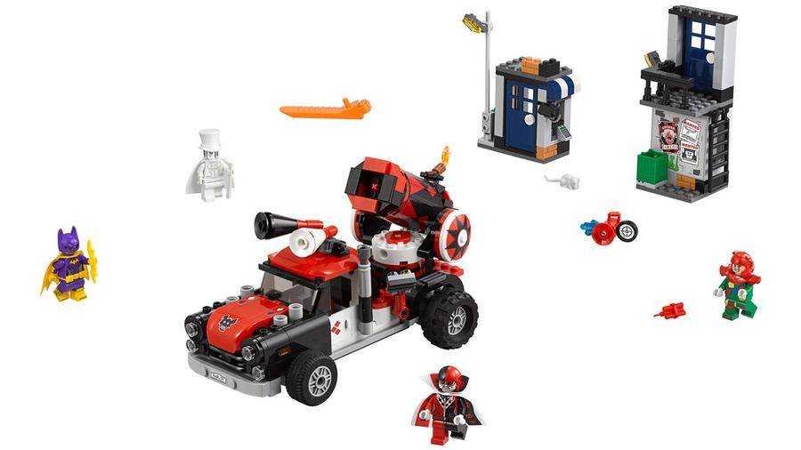 LEGO 70921 Harley Quinn Cannonball Attack - Click Image to Close