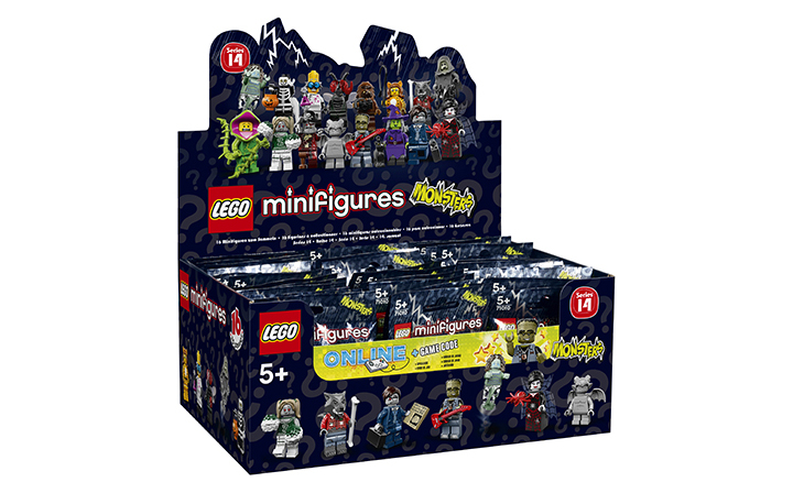 LEGO 71010 MONSTERS MINIFIGURES 60 Packets Minifigure Series 14