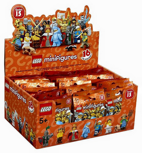 LEGO Minifigures Series 15 Complete Box of 60