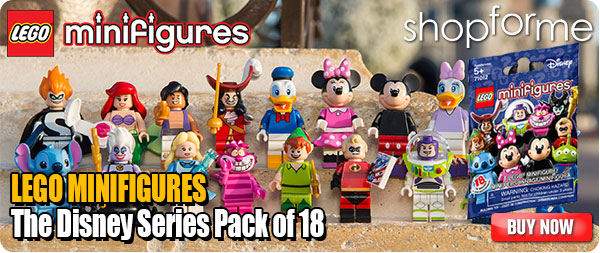 LEGO Minifigures The Disney Series Pack of 18