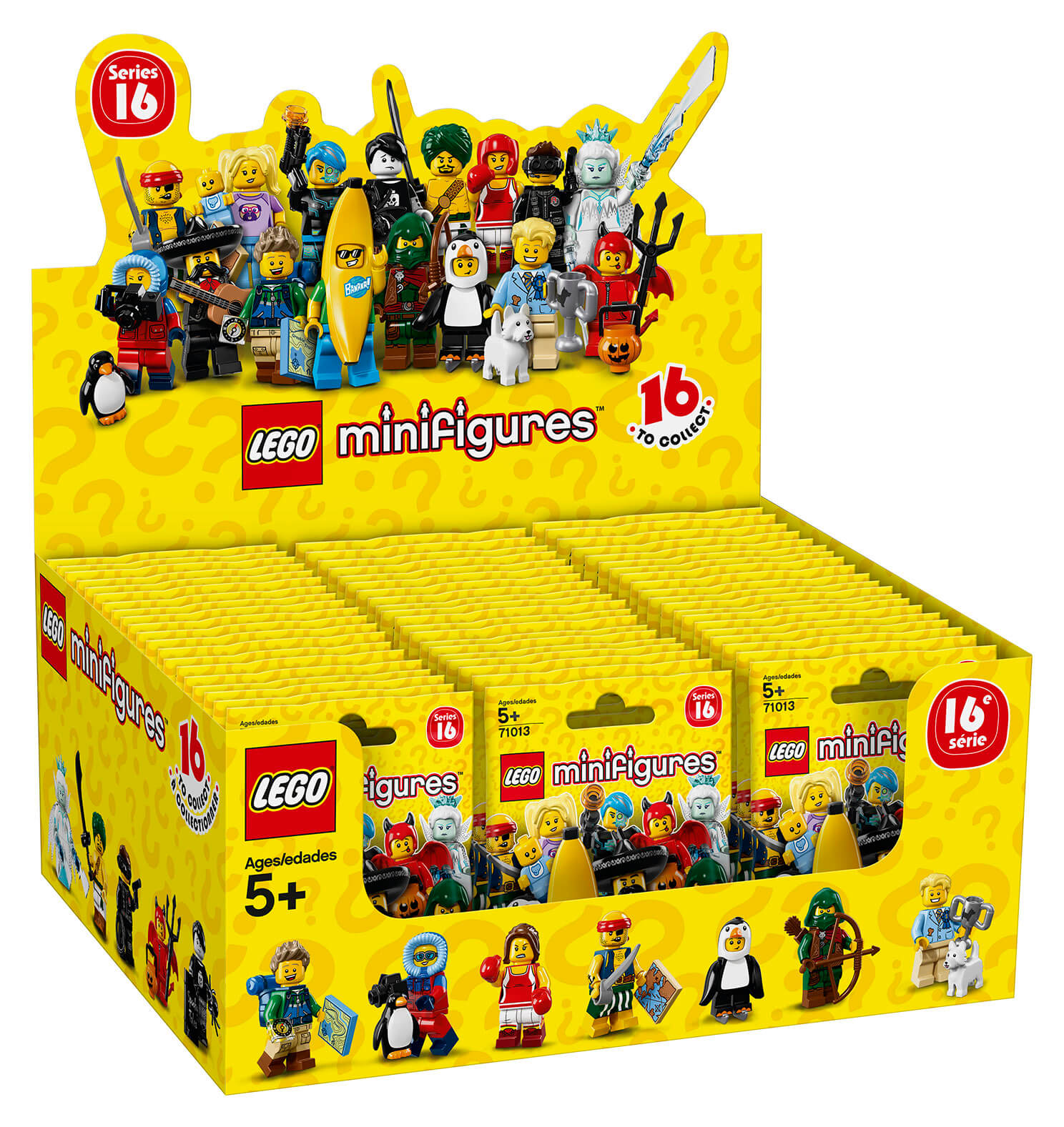 LEGO Minifigures 71013 Series 16 Complete Set of 16