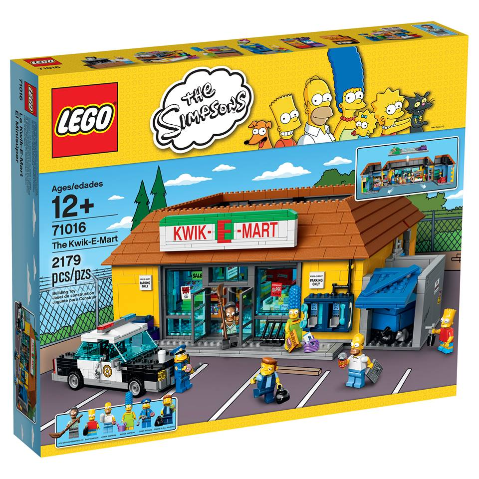 LEGO SIMPSONS The Kwik-E-Mart 71016 - Click Image to Close