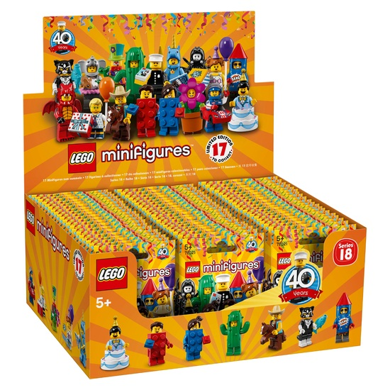 LEGO Minifigures 71021 Series 18 Complete Box of 60