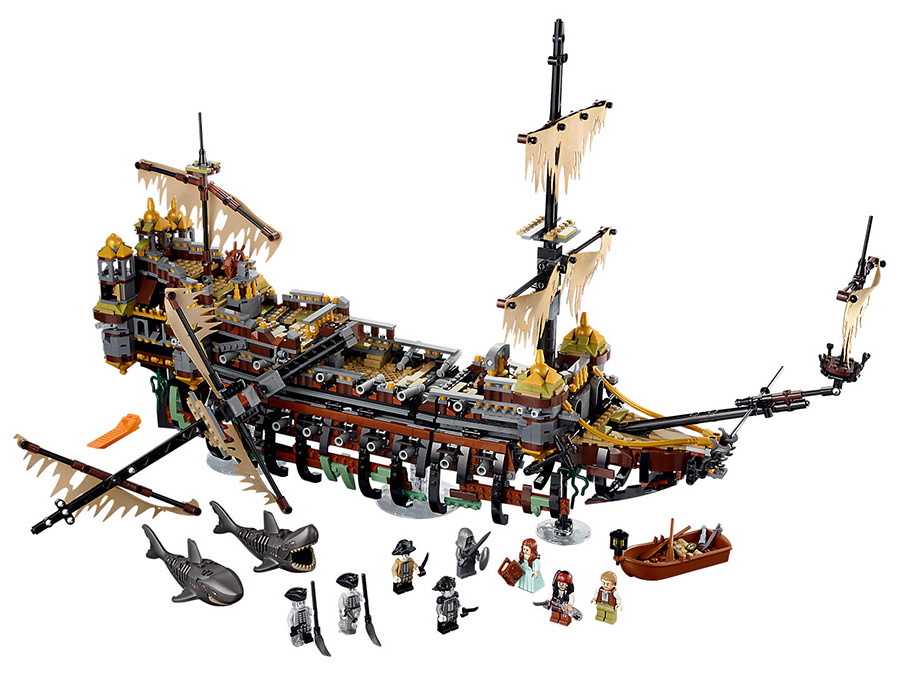 LEGO 71042 Pirates of the Caribbean Silent Mary - Click Image to Close