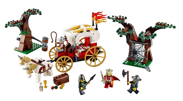 LEGO Kings Carriage Ambush 7188