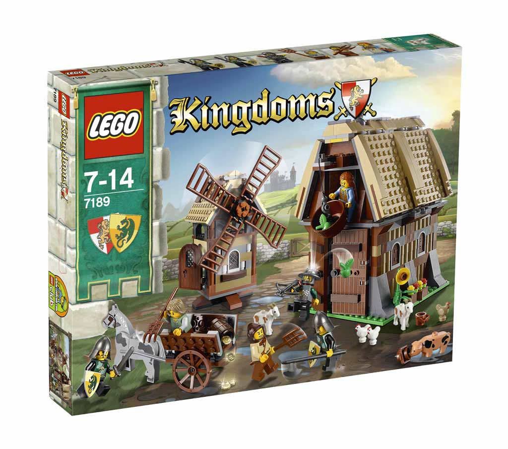 LEGO Mill Village Raid 7189