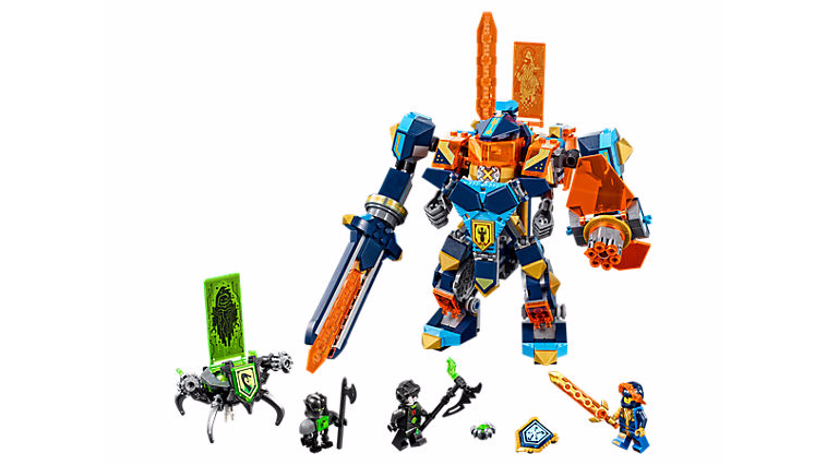 NEXO Knights 72004 Tech Wizard Showdown