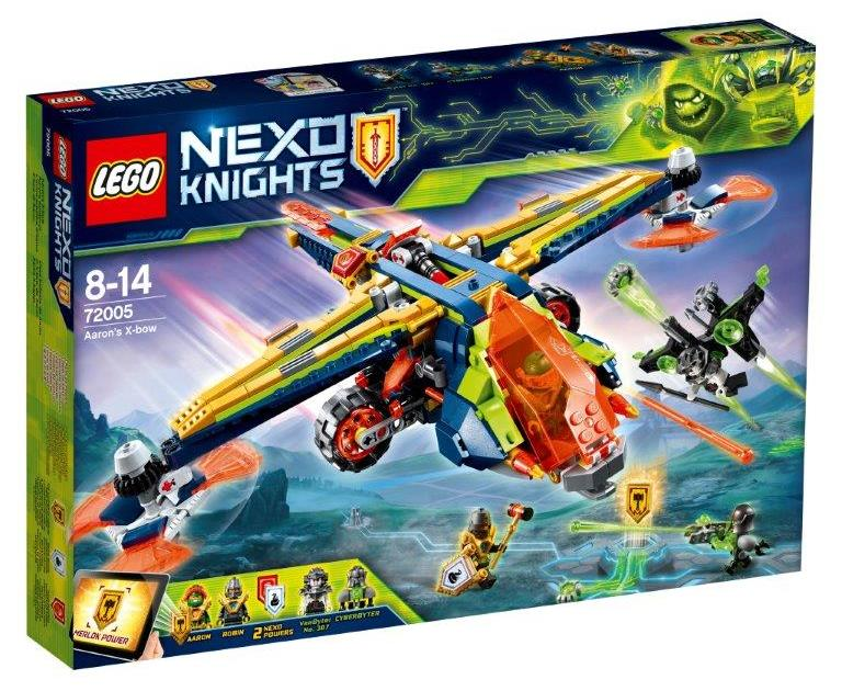 NEXO Knights 72005 Aaron's X-bow - Click Image to Close