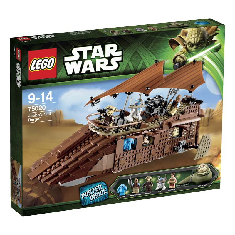 LEGO ® Star Wars Jabba�s Sail Barge 75020