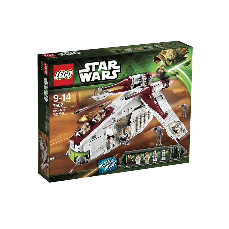 LEGO ® Star Wars Republic Gunship 75021