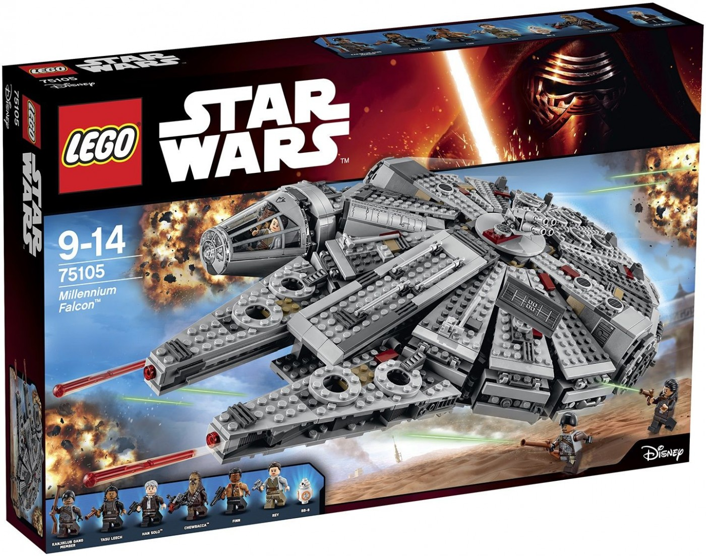 LEGO Star Wars 75105 Millennium Falcon - Click Image to Close