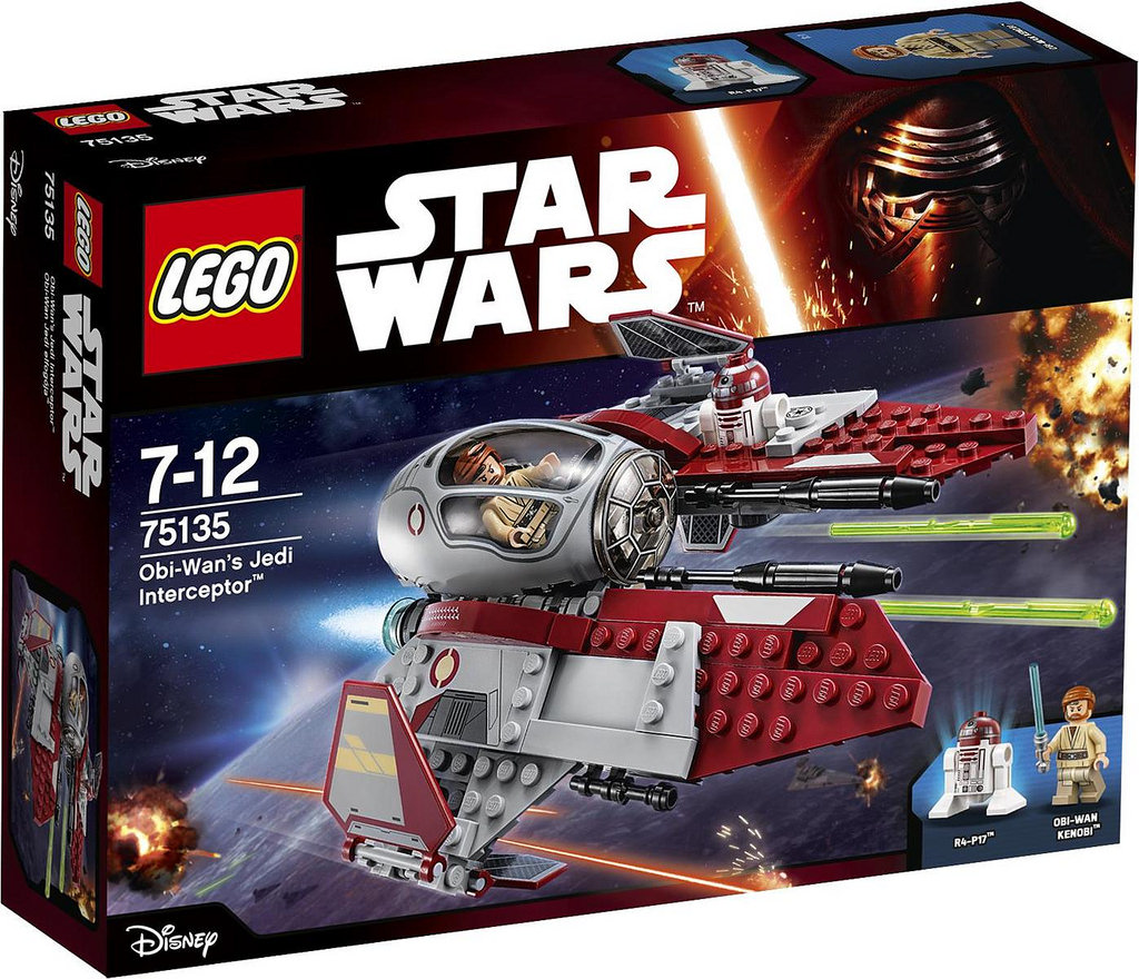 LEGO Star Wars 75135 Obi Wans Jedi Interceptor