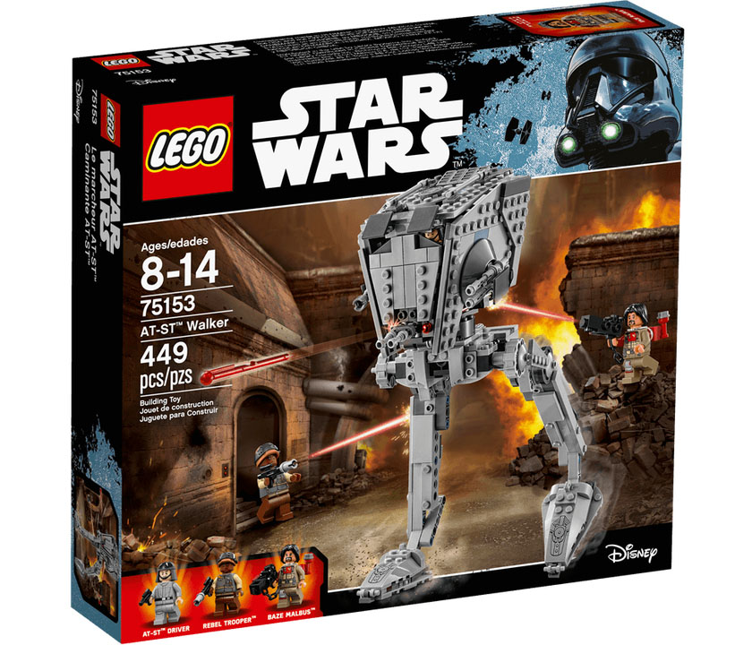 LEGO Star Wars 75153 AT ST Walker