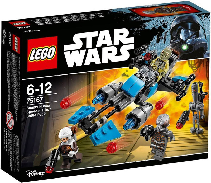 LEGO 75167 Star Wars Bounty Hunter Speeder Bike Battle Pack