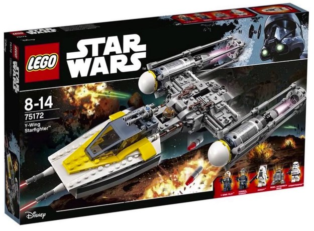 LEGO Star Wars 75172 Y Wing Starfighter