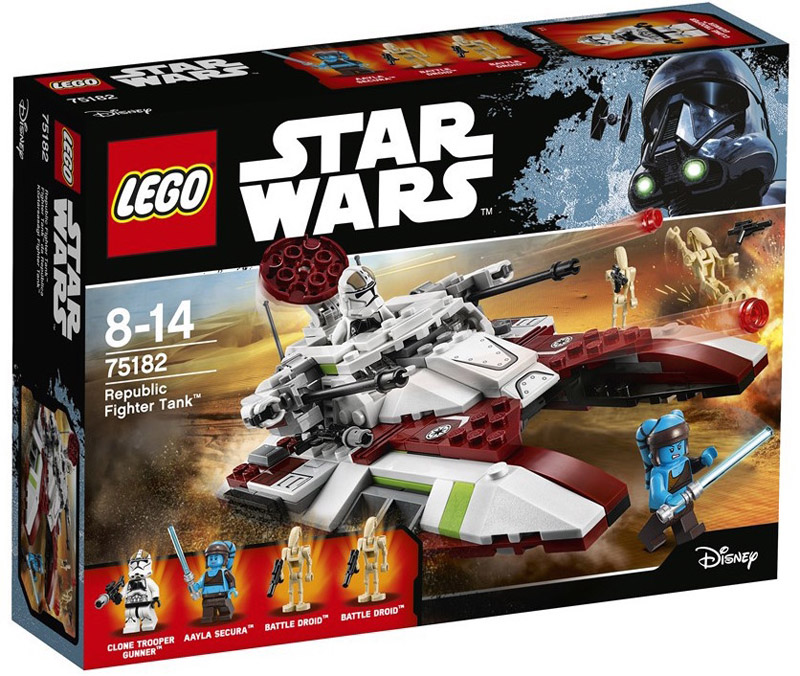 LEGO 75182 Star Wars Republic Fighter Tank