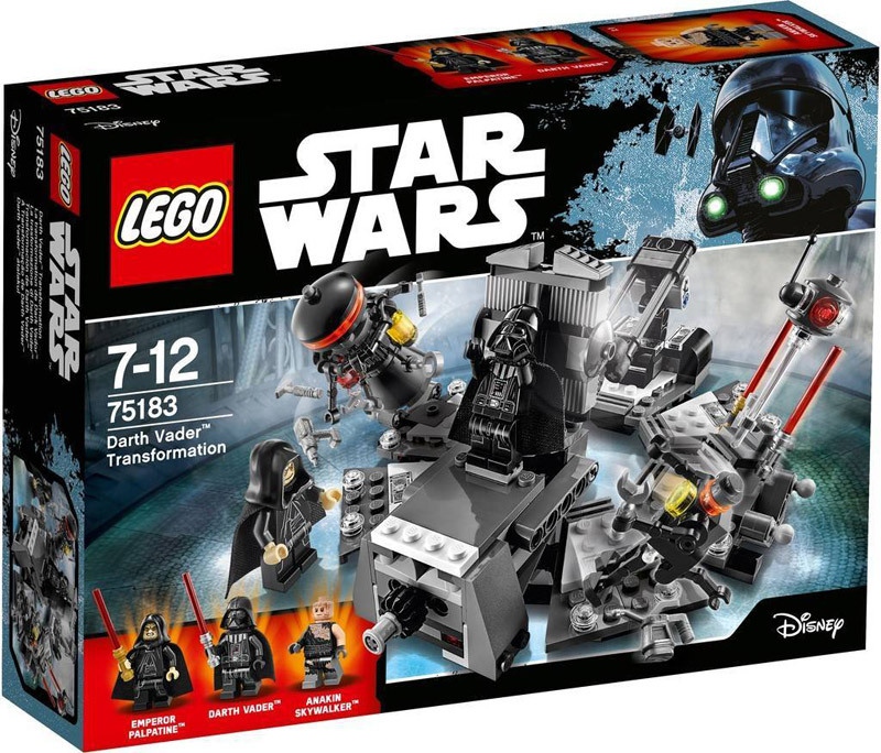 LEGO 75183 Star Wars Darth Vader Transformation