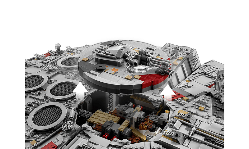 Star Wars 75192 Millennium Falcon