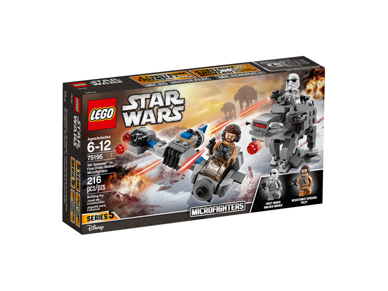 LEGO 75195 Star Wars Ski Speeder vs Walker Microfighters
