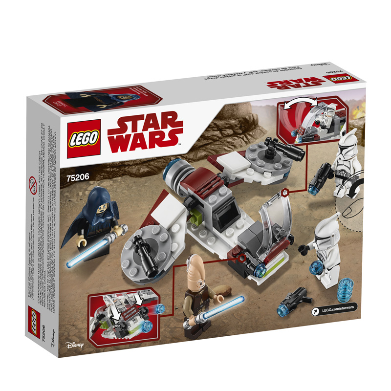 Star Wars 75206 Jedi and Clone Troopers Battle Pack