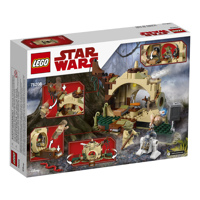 Star Wars 75208 Yodas Hut