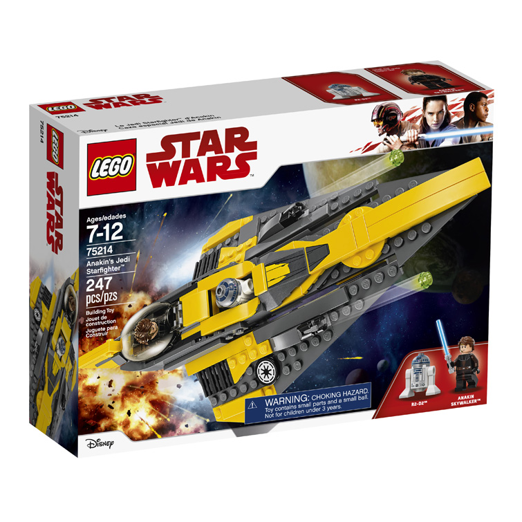 Star Wars 75214 Anakins Jedi Starfighter