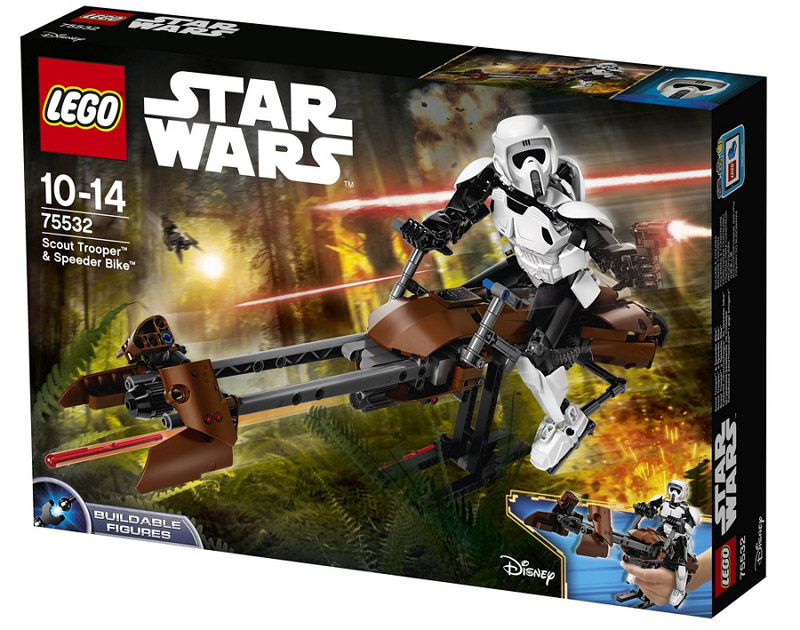 LEGO 75532 Star Wars Scout Trooper and Speeder Bike