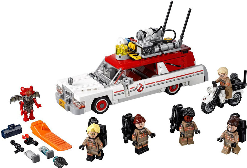 LEGO IDEAS 75828 Ghostbusters Ecto 1 and 2