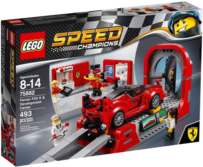 LEGO 75882 Speed Champions Ferrari FXX K and Development Center