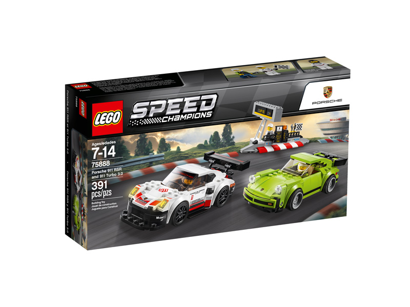 Speed Champions 75888 Porsche 911 RSR and 911 Turbo 3.0