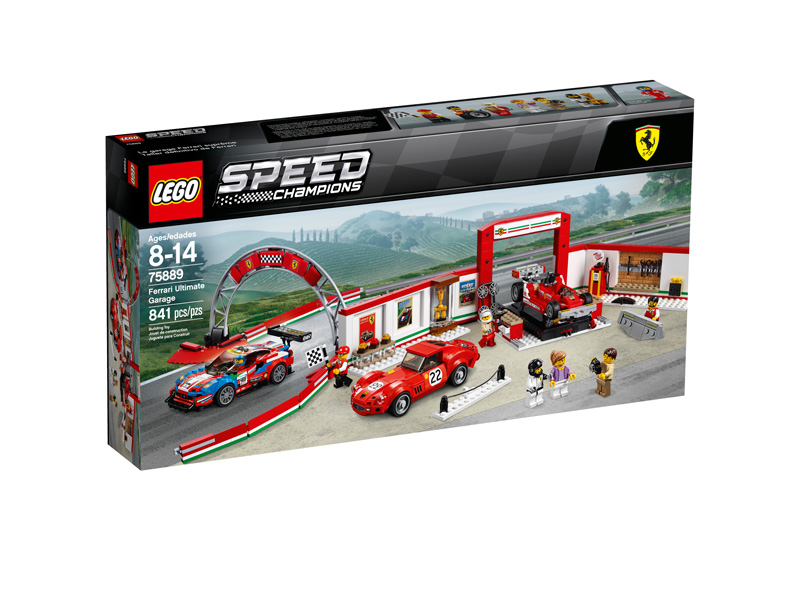 Speed Champions 75889 Ferrari Ultimate Garage