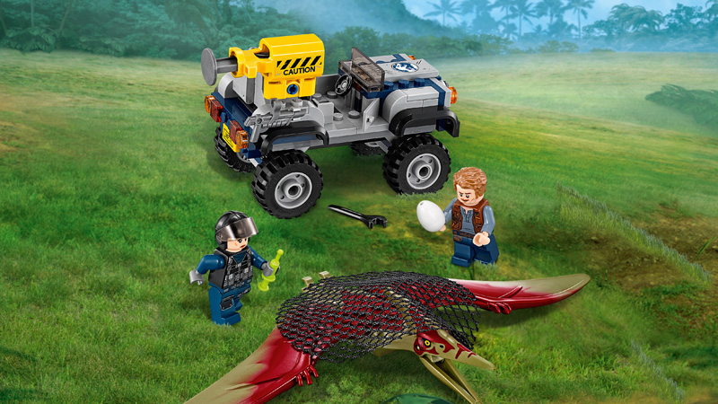 Jurassic World 75926 Pteranodon Chase - Click Image to Close