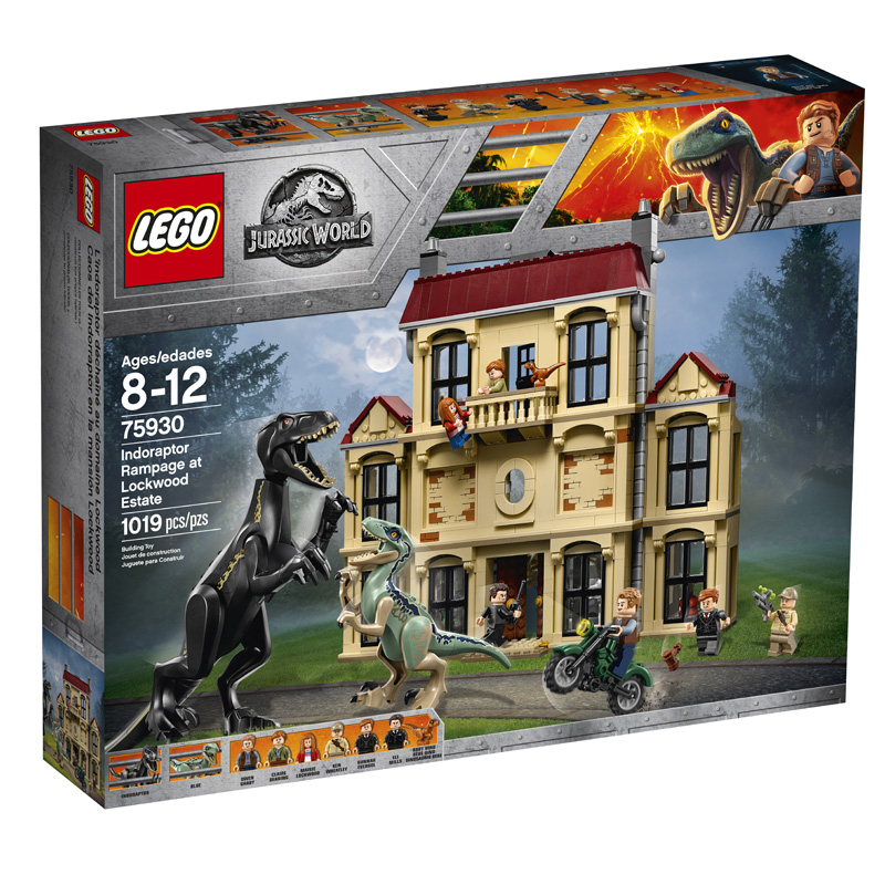 Jurassic World 75930 Indoraptor Rampage at Lockwood Estate