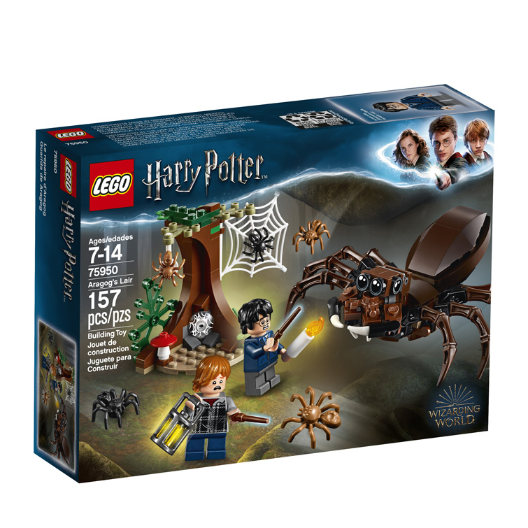 Harry Potter 75950 Aragogs Lair