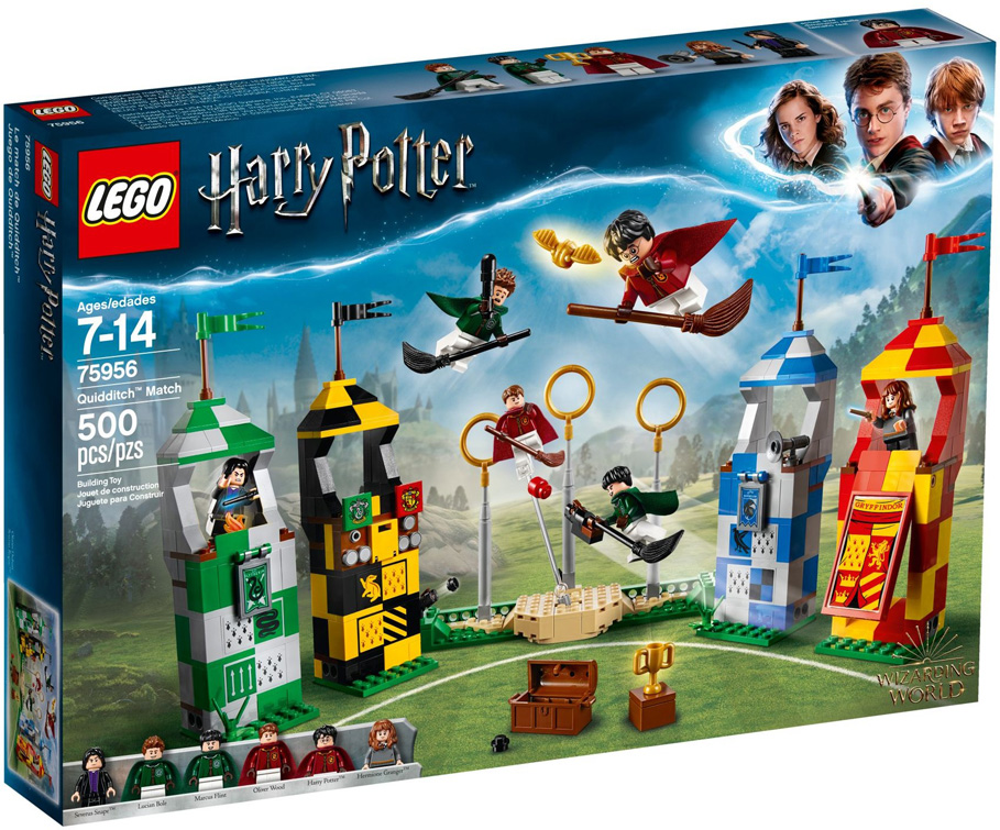 Harry Potter 75956 Quidditch Match