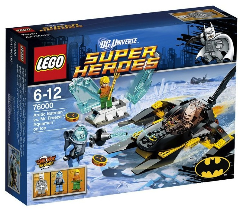 LEGO® Arctic Batman vs Mr Freeze Aquaman on Ice 76000