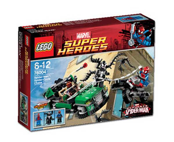 LEGO ® Spider-Man Spider Cycle Chase 76004